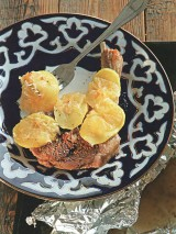 Баранина, запеченная с лимоном