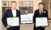 Самаркандскому борцу вручили сертификат на 50 миллионов сумов