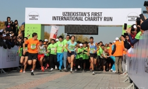 Фото: Samarkand Half Marathon прошел в Самарканде