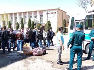 Граждан, находившихся на карантине в Самарканде, отпустили домой