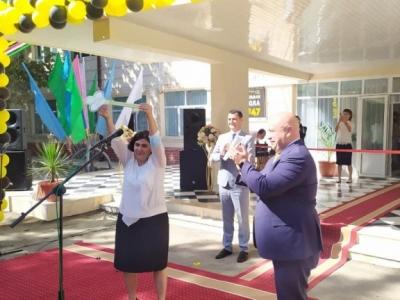 Beeline стал активным участником модернизации школы №47 в Самарканде