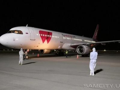 Аэропорт Самарканда принял чартерные рейсы из Санкт-Петербурга и Москвы