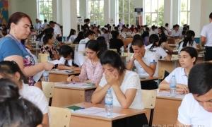 Фото: В Самарканде прошли вступительные экзамены